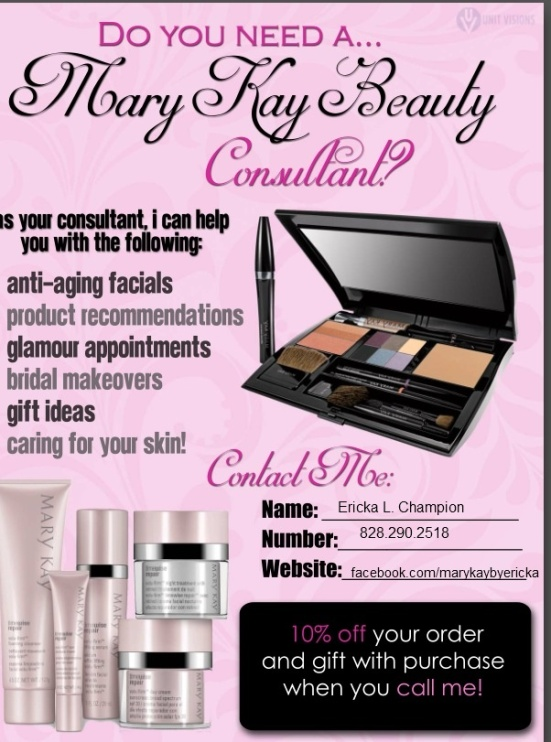 I would love to be your Beauty Consultant!