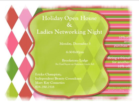 Holiday Open House and Ladies Networking Event