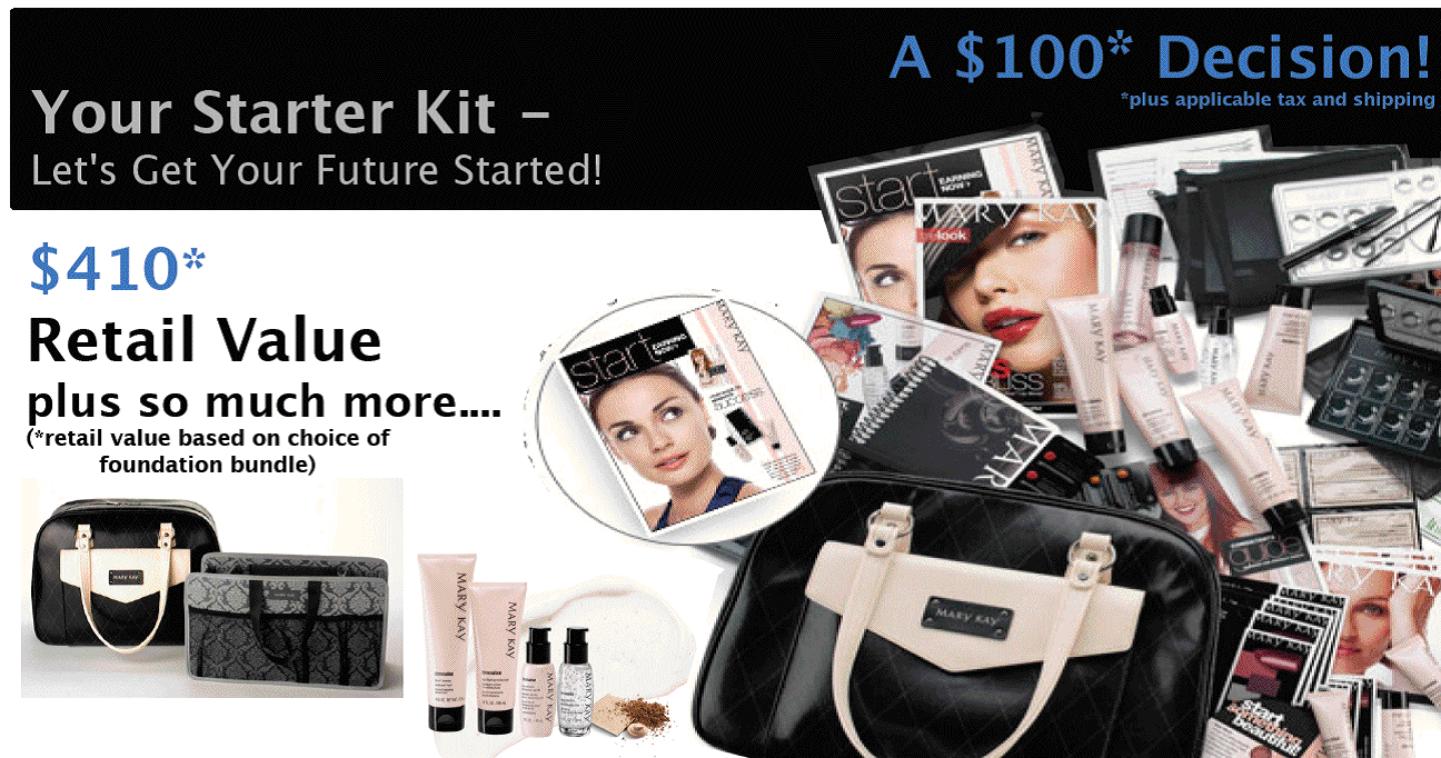 Mary Kay Starter Kit Contents